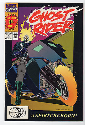 Ghost Rider #1 VF/NM Marvel 1990 1st Print ****SHIPPING DISCOUNTS****