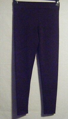 165293ca976eaa NWT Matty M. Thick Material Leggings with Wide Elastic Band Merlot Size  XSmall