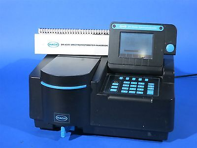 Hach DR4000 Spectrophotometer with Manuals / software + More READ