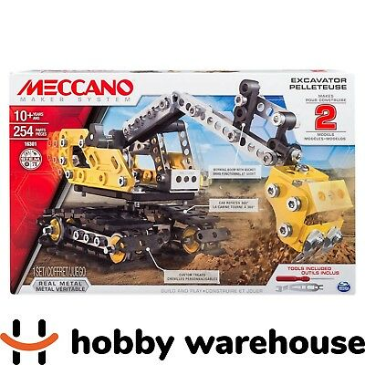 Meccano 16301 Excavator 2-Model Set