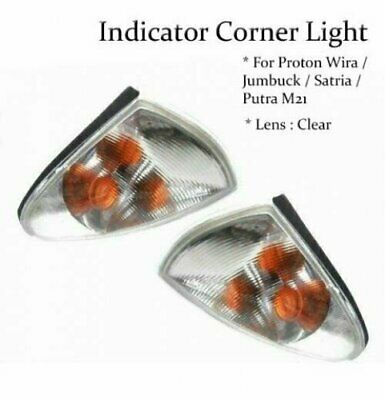 NEW 1 PAIR INDICATOR CORNER LIGHT LAMP For PROTON Jumbuck Satria Wira M21