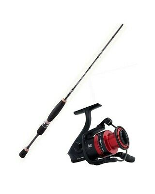 Abu Garcia 6ft Salty Fighter 1-3kg Fishing Rod & Reel Combo-6' Rod/BM 20 Reel
