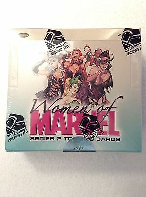 Rittenhouse Archives Women of Marvel Series 2 Factory Sealed box
