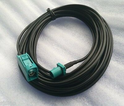 GPS Antenna Fakra Adapter Extension cable Male to Female Length 5M 16Ft