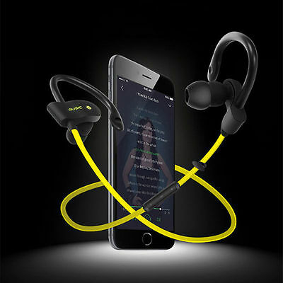 Wireless Bluetooth Headset SPORT Stereo Earphone Headphone for Android Samsung