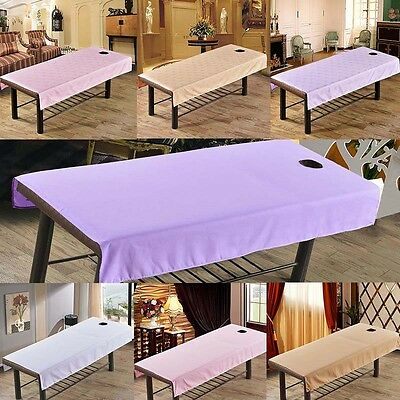 Waterproof Massage SPA Treatment Bed Table Elastic Cover Sheets Face Breath Hole
