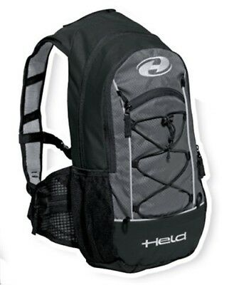 To-Go black-white gray 12 Liter Volume for Motorcycle riders Motorbike Backpack
