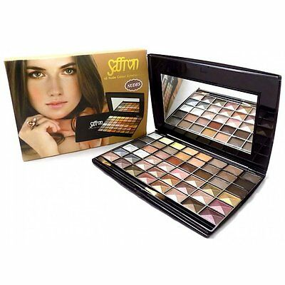 Saffron 48 Colour Nude Shades Eyeshadow Palette Make Up Gift Set