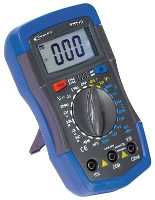 Philex 83001R Digital Multimeter 10A/600V with AC, DC, Capacitor & Battery Test