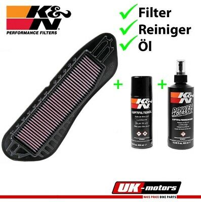 K&N Part exchange Air filters +CARE SET YA-2406 Yamaha VP 250 X - City 2007-2012