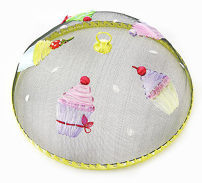 Eddingtons Food Cover - Cupcake - 35cm Keep Insects Away - Food Dome Protector