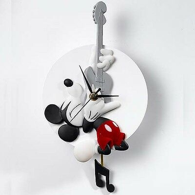 Disney Showcase Mickey Rocks Wall Clock (Mickey Mouse) A24255