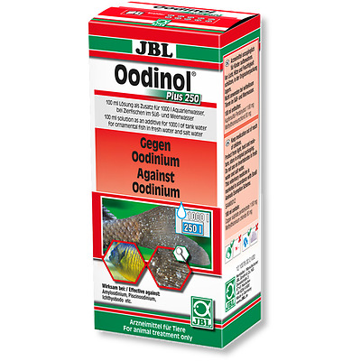 JBL Oodinol Plus 250 100ml - (Remedy For Treatment Of Velvet Disease In Aquarium