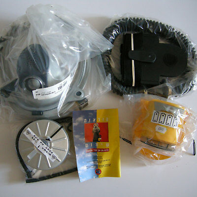 Israel 2012 Gas Mask Protective Hood Kit w/ Blower Filter M-80 (2011) drink tube