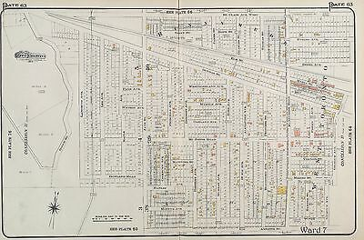 1910, Charles E. Goad, Canada, West Toronto, Runnymede, Copy Plat Atlas Map
