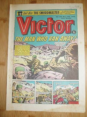 Gurkhas (Prince Of Wales Own)  Ww2  Cover Story  Victor Comic 1974  #691