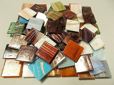 225 Loose Mixed Pack of Gold Dust Best Tiles  Mosaic Tiles, Vitreous, Tessera