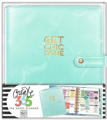 CLASSIC Mint Deluxe Covers The Happy Planner Me & My Big Ideas MAMBI