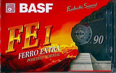 New Basf Ferro Extra FE I 90 Tape Vintage Audio Tape Cassete Made In Germany