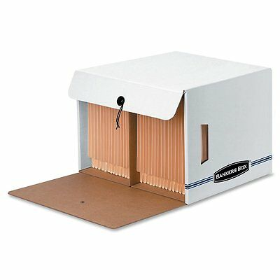 Bankers Box 00061 Side Tab, Drop-Front, Letter, 12-Count