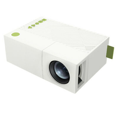 YG310 LCD Mini Portable Projector 800 Lumens 320x240 Pixels Support 1080P 1300m