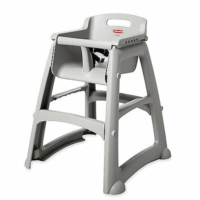 Rubbermaid FG781408 Platinum Sturdy Chair Youth Seat without Wheels