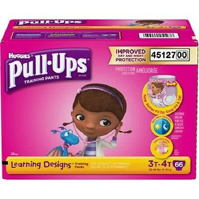 Pull-Ups 45127 Girls' Learning Designs Training Pants, (Choose Your Size)