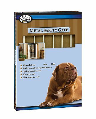 """Four Paws 100203577 3-Panel Free-Standing Walk-Over Gate  34.5"""" Metal"""