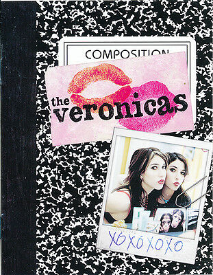 the Veronicas RARE promo faux paper composition notebook (8 pages) '06
