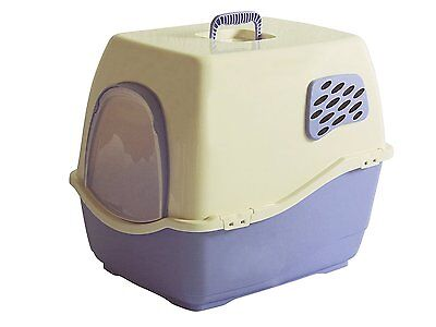 Marchioro BILL 1F LIGHT VIOLET Bill F Covered Litter Pan with Filter