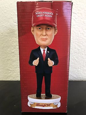 President Donald Trump Bobble Head Doll Limited Edition New In Box