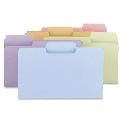 Smead 11962 SuperTab File Folder Legal 11 Point, 1/3 Cut Tab, 100 Per Box