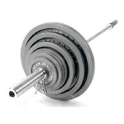 CAP Barbell OB-60 Solid Bar in Chrome (60 in. Bar)