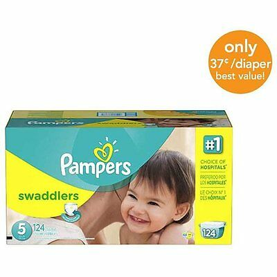 Pampers 3700086386 Swaddlers Diapers, Economy Pack Plus