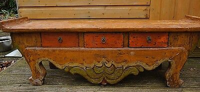 Antique Qing dynasty 19th century Chinese  Altar Table Sideboard