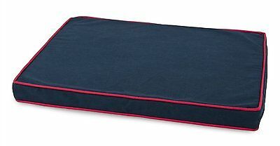 Wetnoz 80163 Ortho Beds for  Pets Machine  washable  cover Blue / Red