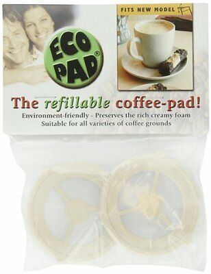 Refillable Coffee Filter - Preserves Rich Creamy Foam /Use Any Ground Coffee