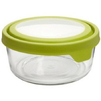 Anchor Hocking 91689 7 Oz. Round True Seal Storage Container (Set of 4)