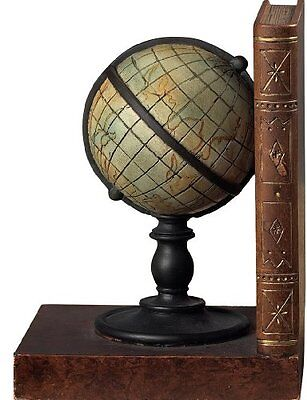Sterling Home Classic Atlas Bookends