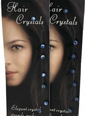 Hair Crystals Magnetic Extension Strand Removable Hair Gem Jewelry Tress