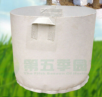 5 Packs Fabric Grow Bags Smart Pots Container 2 5 7 10 15 20 50 80 Gallon New