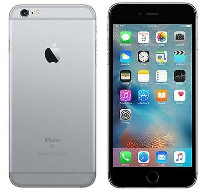 New Apple iPhone 6s - 16GB Space Gray (AT&T) 4G LTE Factory Unlocked Smartphone