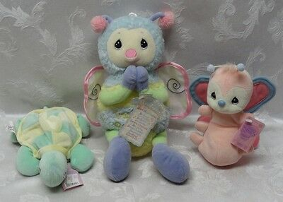 Bumble Bee Turtle Butterfly Precious Moments Plush Tender Tails Special Limited