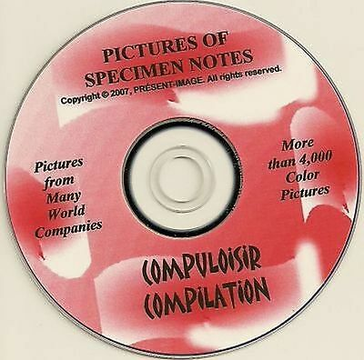 ► Test and Specimen Notes more 4000 Pictures on JPG files +Delarue + on CD 2016