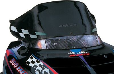 Powermadd 11320 Windshield 12in. Black/White Checks