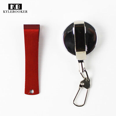 Fly Fishing Retractable Line  Nipper Clipper Mini-Stainless Steel Nail Zinger