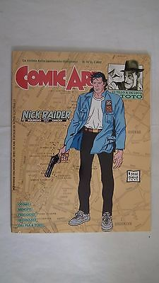 Rivista Comic Art 97 Nick Raider