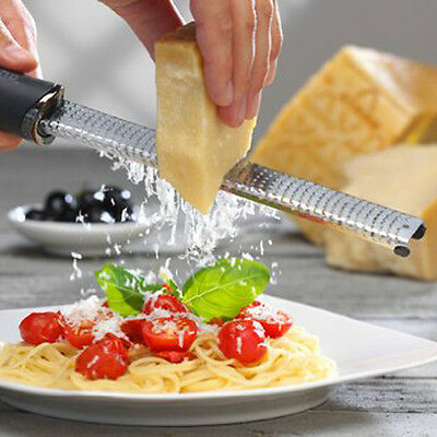 Stainless Steel Zester Cheese Zester Fruit Peeler Microplane Grater Kitchen Tool
