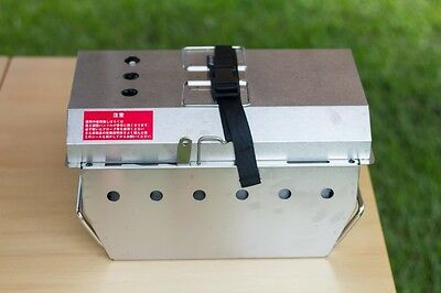 New Snow Peak Single Bbq Box Suits Igt Outdoor Camping Cooking