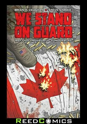 WE STAND ON GUARD GRAPHIC NOVEL New Paperback Collects Issues #1-6